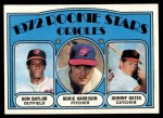 1972 Topps #474   -  Don Baylor / Roric Harrison / Johnny Oates Orioles Rookies   Front Thumbnail
