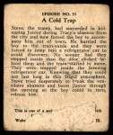 1931 Johnson Candy Dick Tracy R41 #55   Cold Trap Back Thumbnail