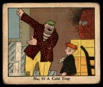 1931 Johnson Candy Dick Tracy R41 #55   Cold Trap Front Thumbnail