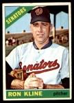 1966 Topps #453  Ron Kline  Front Thumbnail