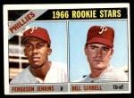 1966 Topps #254   -  Ferguson Jenkins / Bill Sorrell Phillies Rookies Front Thumbnail