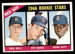 1966 Topps #558   -  George Scott / Guido Grilli / Pete Magrini Red Sox Rookies Front Thumbnail