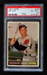 1957 Topps #193  Del Rice  Front Thumbnail