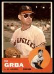 1963 Topps #231  Eli Grba  Front Thumbnail