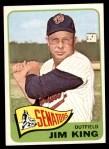1965 Topps #38  Jim King  Front Thumbnail