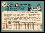 1965 Topps #299  Jerry Zimmerman  Back Thumbnail
