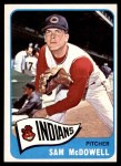 1965 Topps #76  Sam McDowell  Front Thumbnail