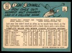 1965 Topps #362  Don Schwall  Back Thumbnail