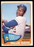 1965 Topps #435  Willie Davis  Front Thumbnail