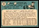 1965 Topps #396  Frank Bertaina  Back Thumbnail