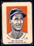 1952 Wheaties #10 POR Ted Williams  Front Thumbnail