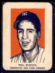 1952 Wheaties #8 POR Phil Rizzuto  Front Thumbnail