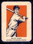 1952 Wheaties #5 AC Ralph Kiner  Front Thumbnail