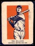 1952 Wheaties #10 AC Ted Williams  Front Thumbnail