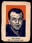 1952 Wheaties #2 POR Tom Fears  Front Thumbnail