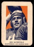 1952 Wheaties #6 POR Bob Waterfield  Front Thumbnail