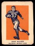 1952 Wheaties #5 AC Doak Walker  Front Thumbnail