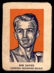 1952 Wheaties #1 POR Bob Davies  Front Thumbnail