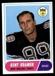 1968 Topps #134  Kent Kramer  Front Thumbnail