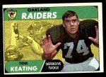 1968 Topps #116  Tom Keating  Front Thumbnail
