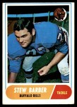 1968 Topps #44  Stew Barber  Front Thumbnail