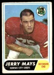 1968 Topps #119  Jerry Mays  Front Thumbnail