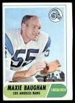 1968 Topps #210  Maxie Baughan  Front Thumbnail