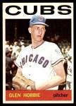 1964 Topps #578  Glen Hobbie  Front Thumbnail
