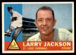 1960 Topps #492  Larry Jackson  Front Thumbnail