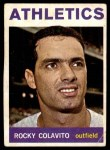 1964 Topps #320  Rocky Colavito  Front Thumbnail