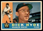1960 Topps #193  Dick Hyde  Front Thumbnail