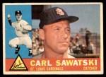 1960 Topps #545  Carl Sawatski  Front Thumbnail