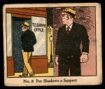 1931 Johnson Candy Dick Tracy R41 #8   Pat Shadows Suspect Front Thumbnail