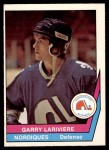 1977 O-Pee-Chee WHA #26  Garry Lariviere  Front Thumbnail