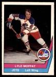 1977 O-Pee-Chee WHA #64  Lyle Moffat  Front Thumbnail