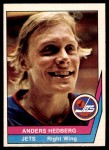 1977 O-Pee-Chee WHA #3  Anders Hedberg  Front Thumbnail