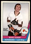 1977 O-Pee-Chee WHA #20  Marc Tardif  Front Thumbnail