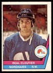 1977 O-Pee-Chee WHA #8  Real Cloutier  Front Thumbnail