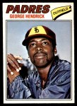 1977 O-Pee-Chee #218  George Hendrick  Front Thumbnail
