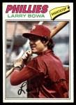 1977 O-Pee-Chee #17  Larry Bowa  Front Thumbnail