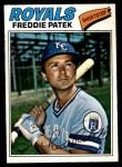 1977 O-Pee-Chee #244  Freddie Patek  Front Thumbnail