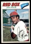 1977 O-Pee-Chee #62  Jim Rice  Front Thumbnail