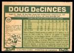 1977 O-Pee-Chee #228  Doug DeCinces  Back Thumbnail