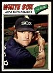 1977 O-Pee-Chee #46  Jim Spencer  Front Thumbnail