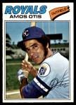 1977 O-Pee-Chee #141  Amos Otis  Front Thumbnail