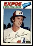1977 O-Pee-Chee #63  Don Stanhouse  Front Thumbnail