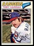 1977 O-Pee-Chee #208  Toby Harrah  Front Thumbnail