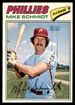 1977 O-Pee-Chee #245  Mike Schmidt  Front Thumbnail