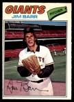 1977 O-Pee-Chee #119  Jim Barr  Front Thumbnail