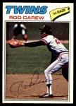 1977 O-Pee-Chee #143  Rod Carew  Front Thumbnail